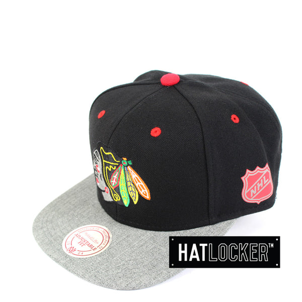 Mitchell & Ness - Chicago Blackhawks Greytist Snapback