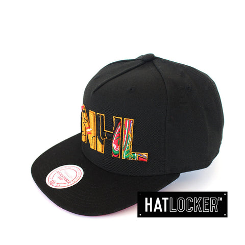 Mitchell & Ness NHL Chicago Blackhawks Insider Snapback