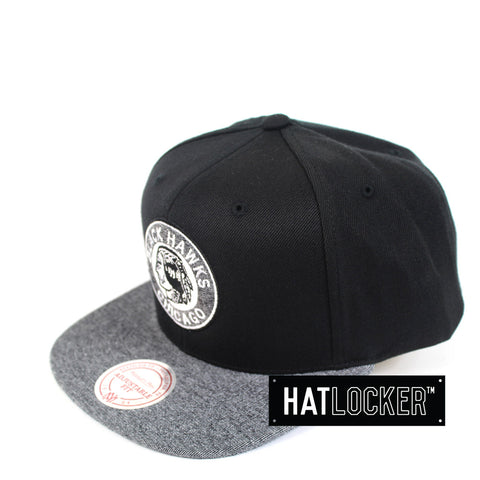 Mitchell & Ness - Chicago Blackhawks Melange Infill Snapback