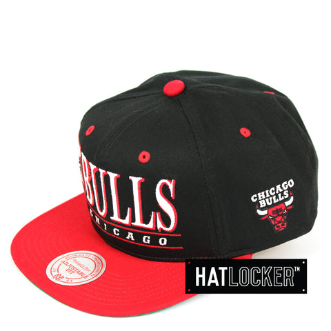 Mitchell & Ness Chicago Bulls Horizon Snapback Hat