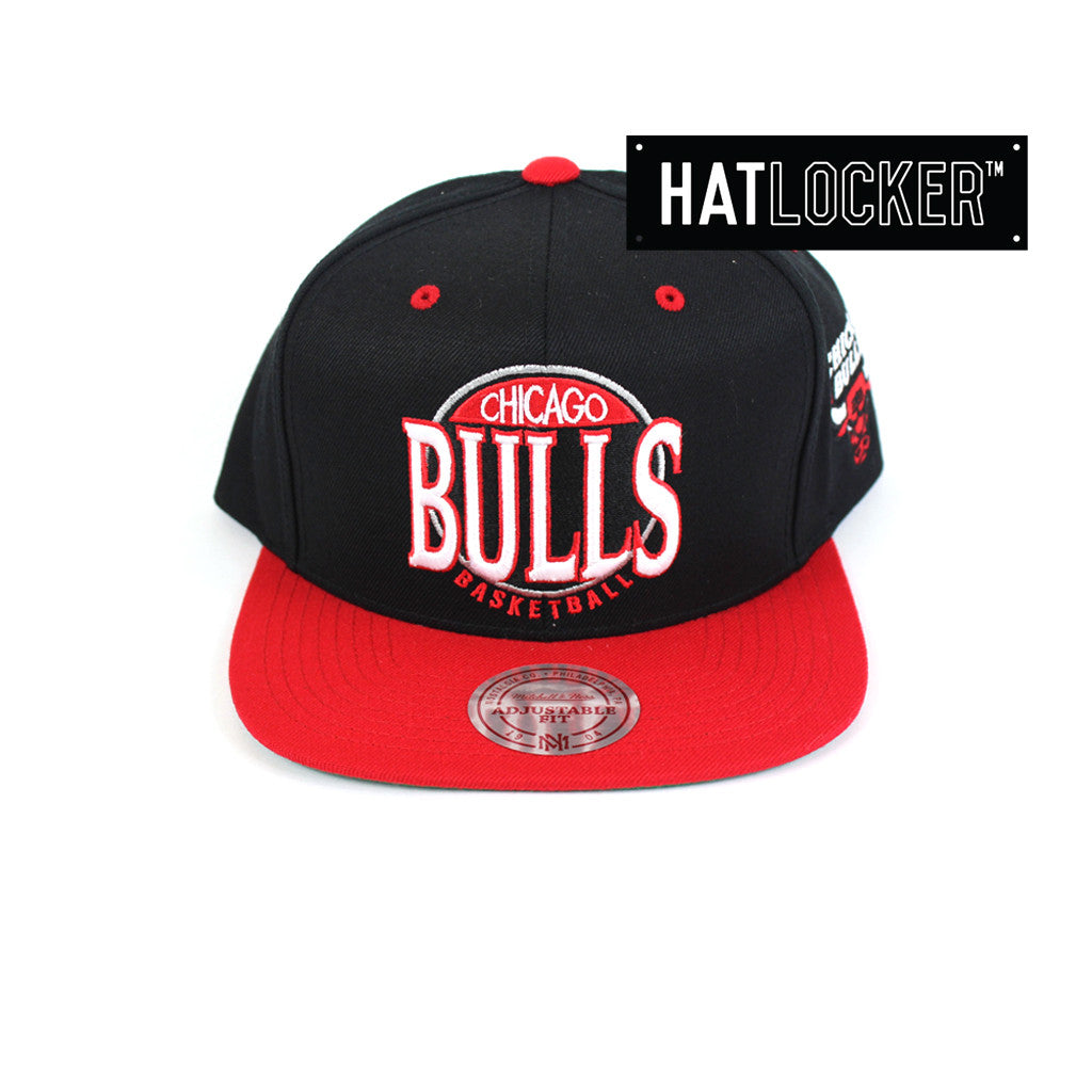 Mitchell & Ness - Chicago Bulls On The Spot Snapback