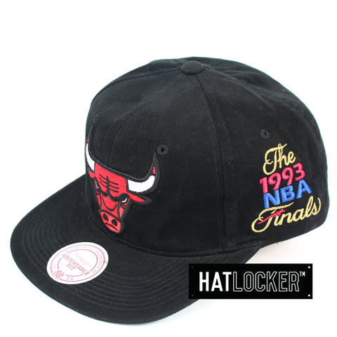 Mitchell and Ness Chicago Bulls The Road Finals Snapback Hat