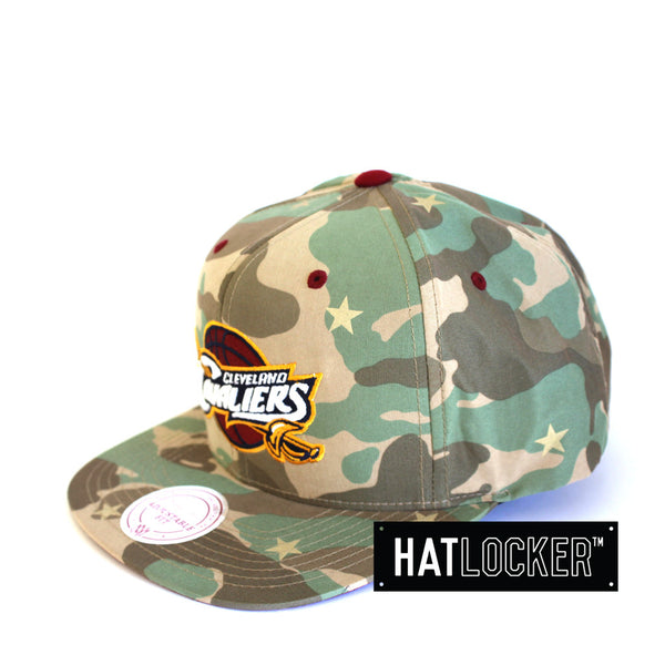 Mitchell & Ness - Cleveland Cavaliers Camo Star Snapback
