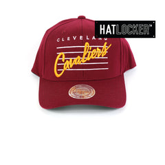Mitchell & Ness - Cleveland Cavaliers Cursive Script Snapback