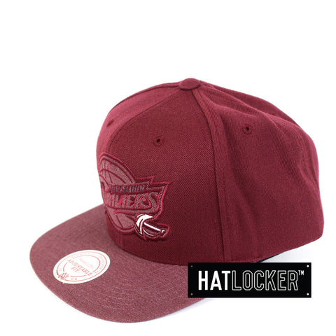 Mitchell & Ness - Cleveland Cavaliers Heather 2 Tone Snapback