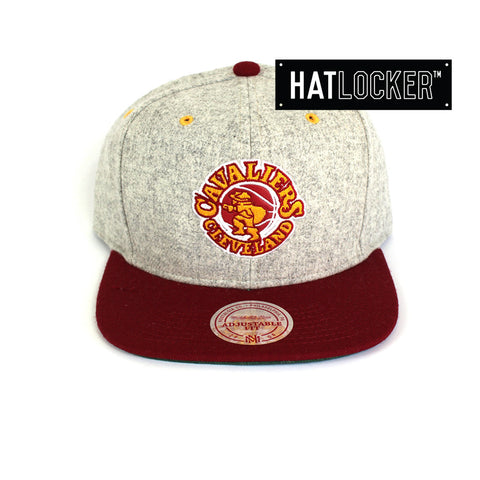 Mitchell & Ness - Cleveland Cavaliers Melange Flannel Snapback