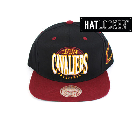 Mitchell & Ness - Cleveland Cavaliers On The Spot Snapback