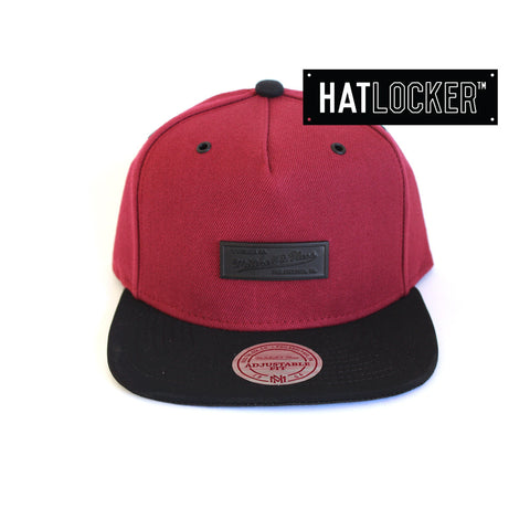 Mitchell & Ness - Demand Burgundy Snapback