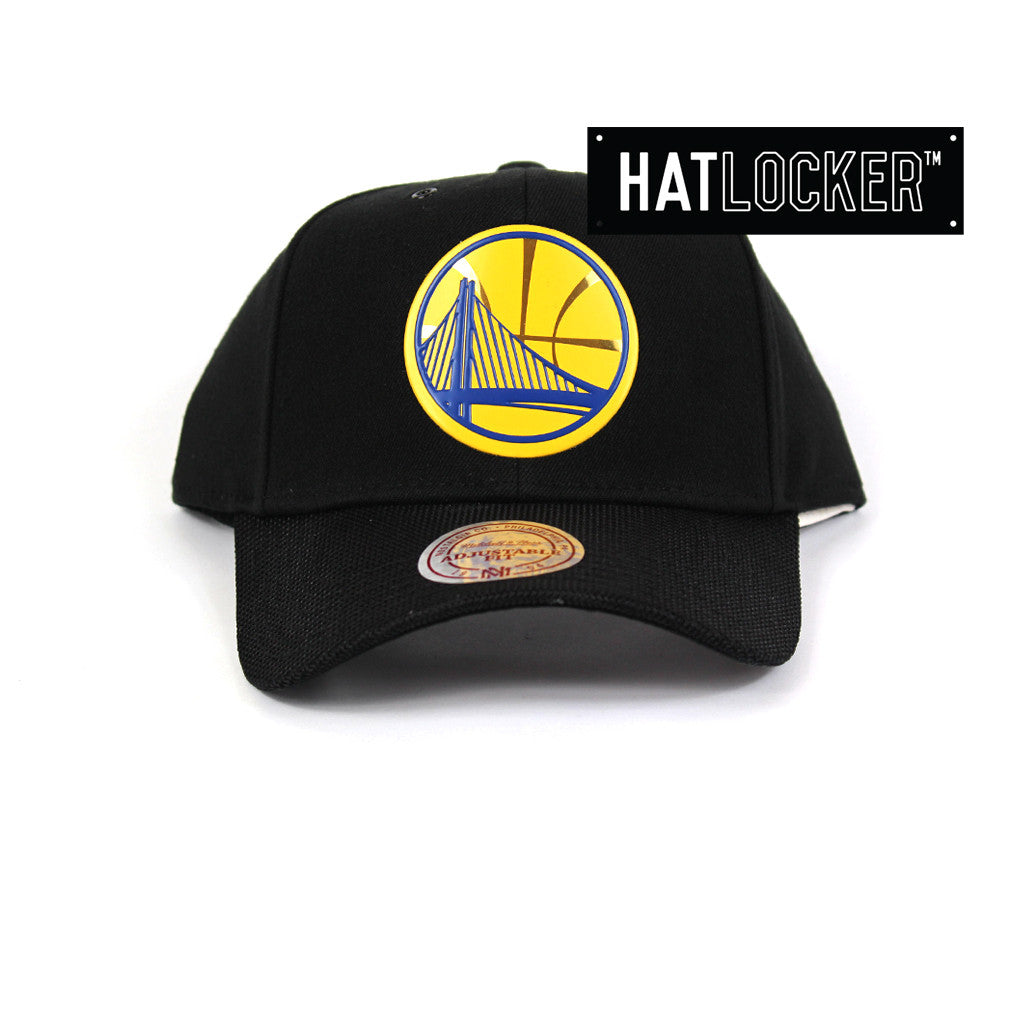 Mitchell & Ness - Golden State Warriors Carat Curved Snapback