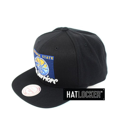 Mitchell & Ness - Golden State Warriors Easy Three Digital Snapback