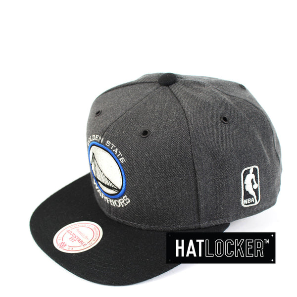 Mitchell & Ness - Golden State Warriors G3 Logo Snapback
