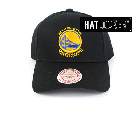 Mitchell & Ness - Golden State Warriors Low Pro Curved Strapback