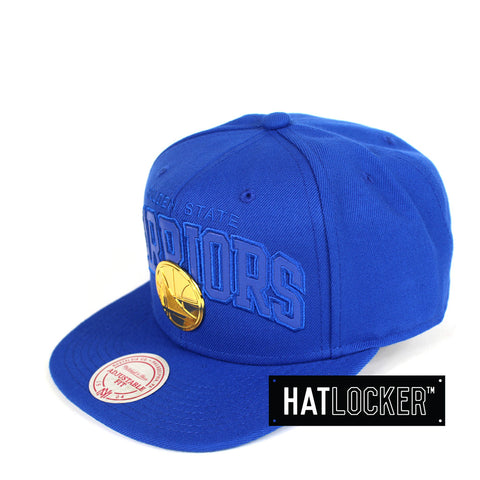 Mitchell & Ness - Golden State Warriors Lux Arch Snapback