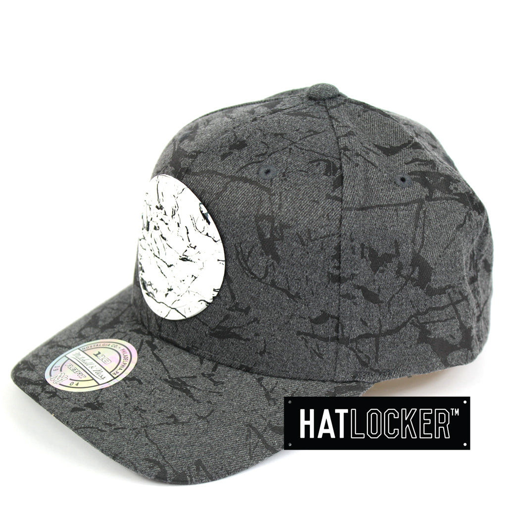 7c3c2f16e3c Details about Mitchell   Ness - Golden State Warriors Marble Curved Snapback