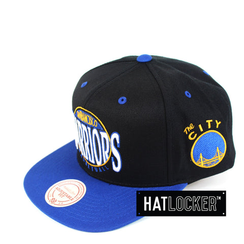 Mitchell & Ness - Golden State Warriors On The Spot Snapback