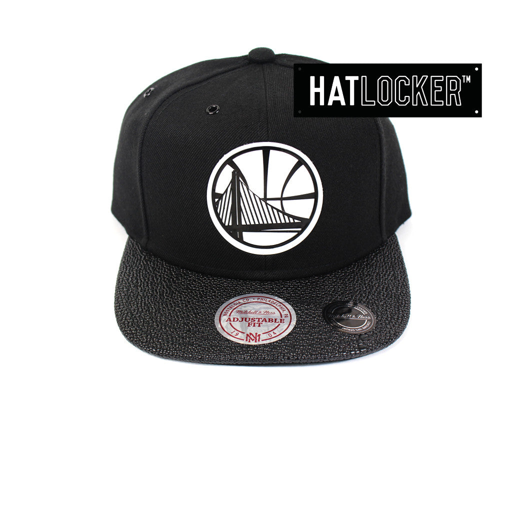 buy online b97dc b76b0 Mitchell   Ness   NBA Golden State Warriors Ultimate Snapback Hat – Hat  Locker