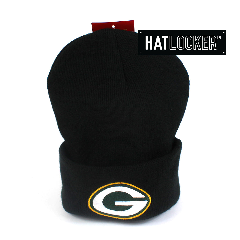 Mitchell & Ness Green Bay Packers Cuff Knit Beanie