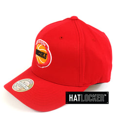 Mitchell & Ness Houston Rockets 110 Retro Team Curved Snapback Hat