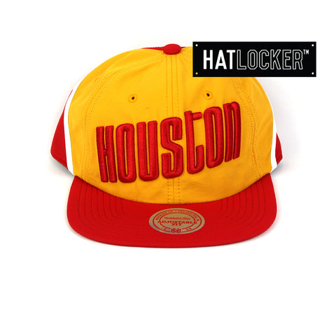 Mitchell & Ness Houston Rockets Anorak Snapback Cap