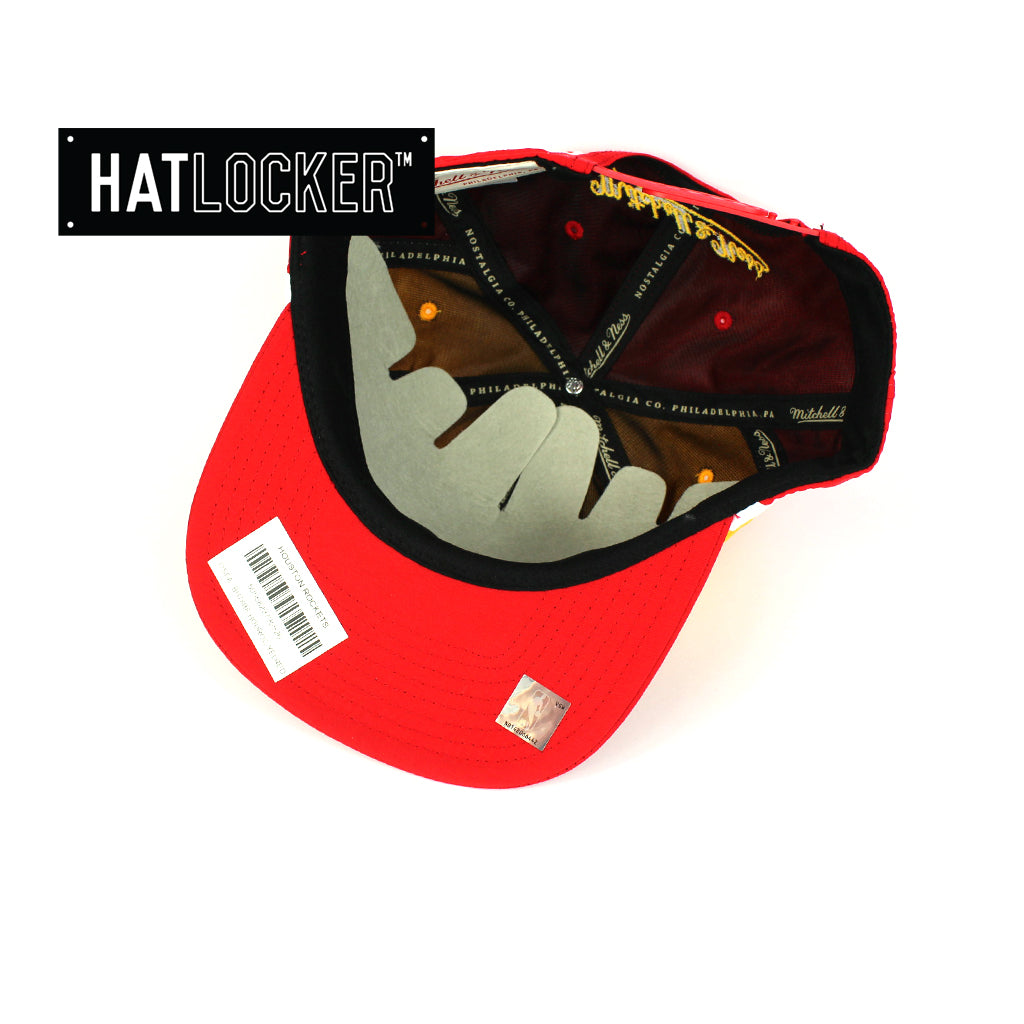 2de74acf17a4aa ... coupon code for mitchell ness houston rockets anorak snapback cap f97a4  64d5c