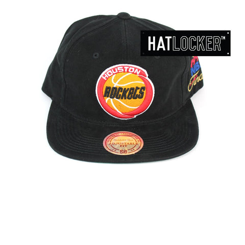 Mitchell and Ness Houston Rockets The Road Finals Snapback Hat