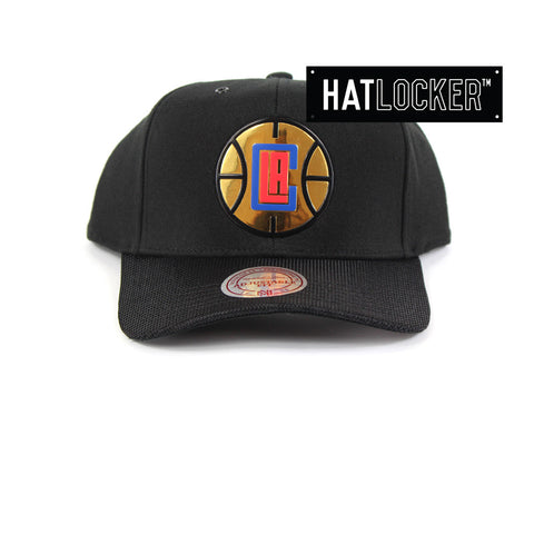 Mitchell & Ness - LA Clippers Carat Curved Snapback
