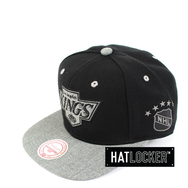 Mitchell & Ness - LA Kings Greytist Snapback