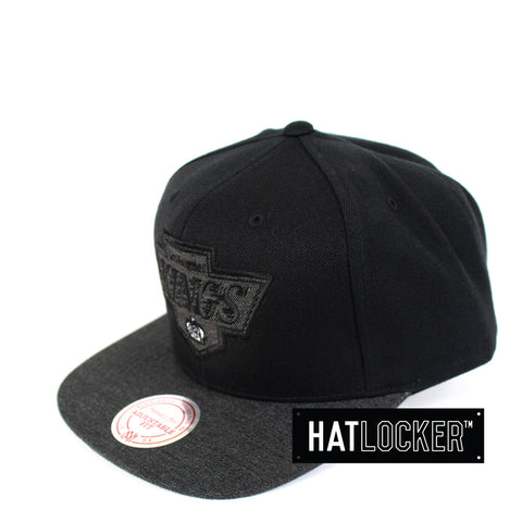 Mitchell & Ness - LA Kings Heather 2 Tone Snapback