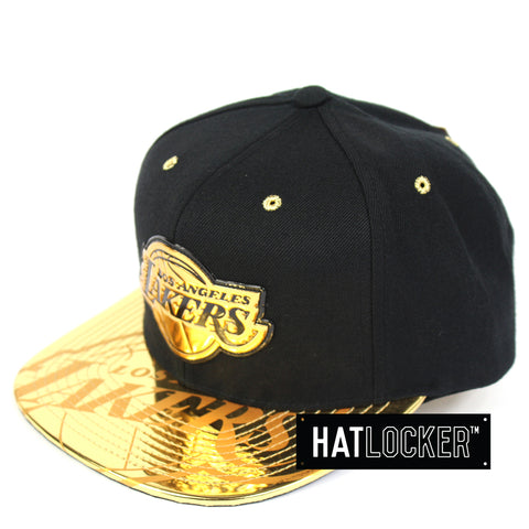 Mitchell & Ness LA Lakers Gold Standard Snapback Cap