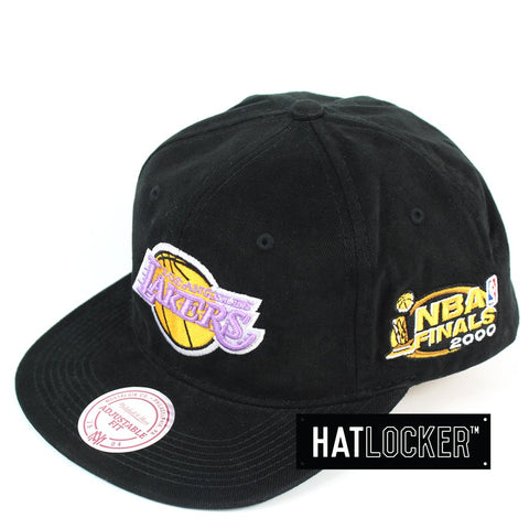 Mitchell and Ness LA Lakers The Road Finals Snapback Hat
