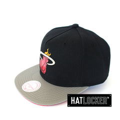 Mitchell and Ness Miami Heat Neo Snapback