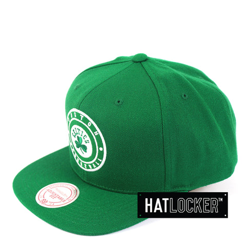 Mitchell & Ness - Boston Celtics Twill Circle Patch Snapback