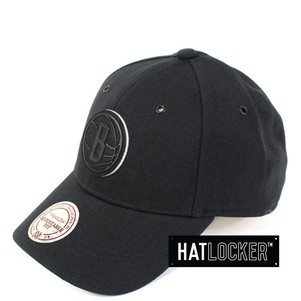 Mitchell Ness Brooklyn Nets Filter 2 Curved Snapback