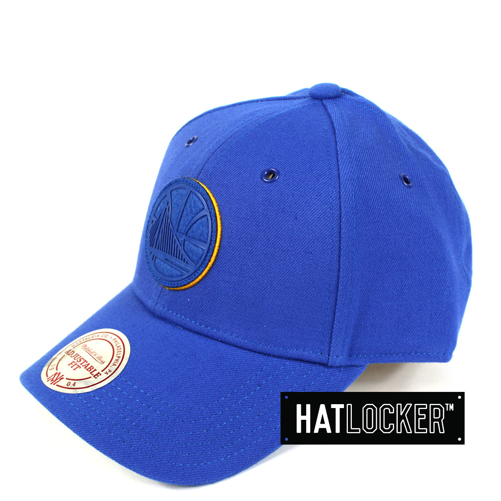 Mitchell Ness Golden State Warriors Filter 2 Curved Snapback Hat