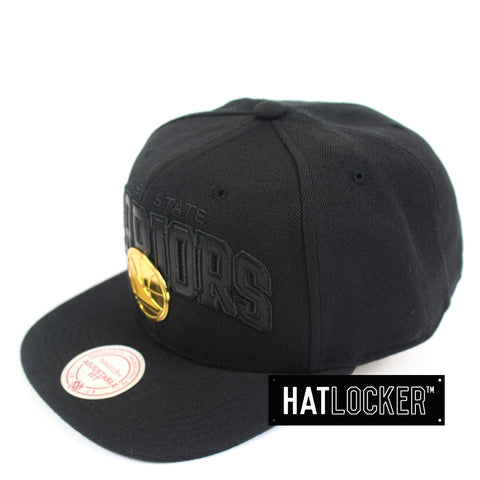 Mitchell & Ness - Golden State Warriors Lux Logo Snapback