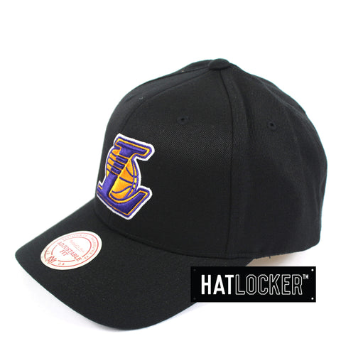 Mitchell & Ness - LA Lakers HWC Logo Curved Snapback