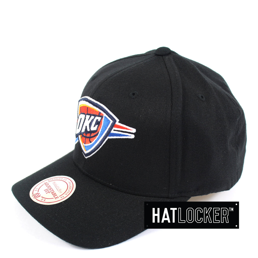 Details about Mitchell   Ness - Oklahoma City Thunder HWC Logo Curved  Snapback 68142fe7485