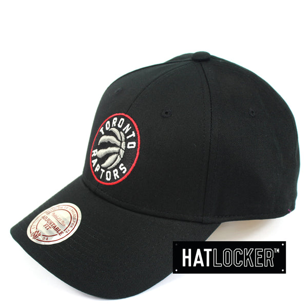 Mitchell And Ness Toronto Raptors Low Pro Curved Snapback Hat