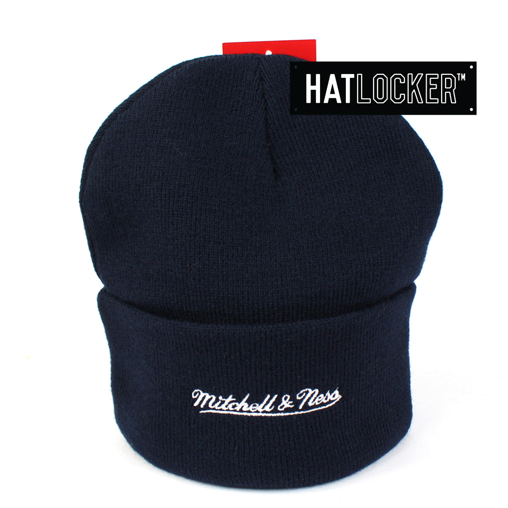Mitchell & Ness New England Patriots Navy Cuff Knit Beanie