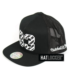 Mitchell & Ness New York Knicks Name & Number Snapback Hat