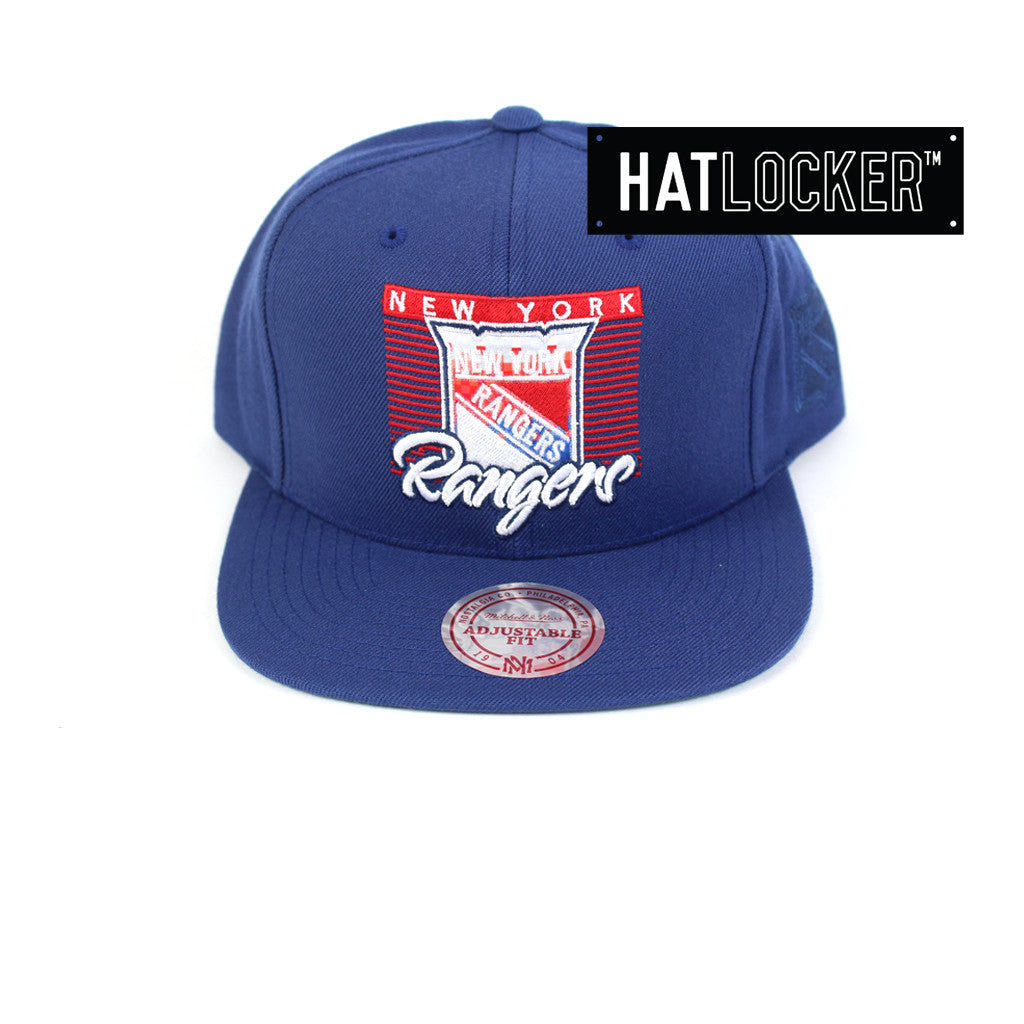 cef95af50f1b2d Mitchell & Ness | NHL New York Rangers Easy Three Digital Snapback – Hat  Locker