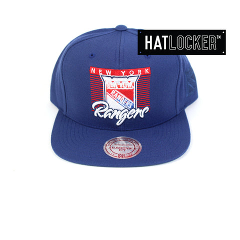 Mitchell & Ness - New York Rangers Easy Three Digital Snapback