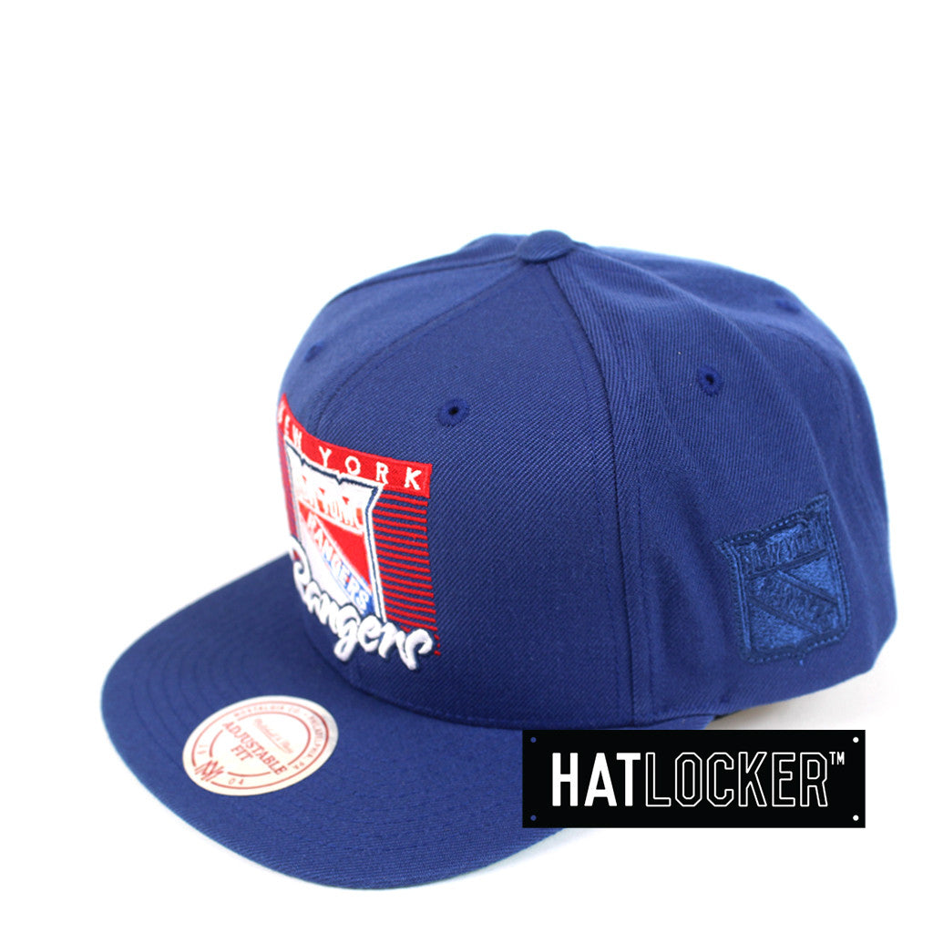 af9f5f365beb28 Mitchell & Ness | NHL New York Rangers Easy Three Digital Snapback ...