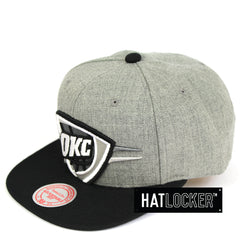 Mitchell & Ness Oklahoma City Thunder Crop XL Snapback Hat