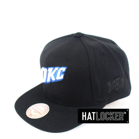 Mitchell & Ness - Oklahoma City Thunder Elements Snapback