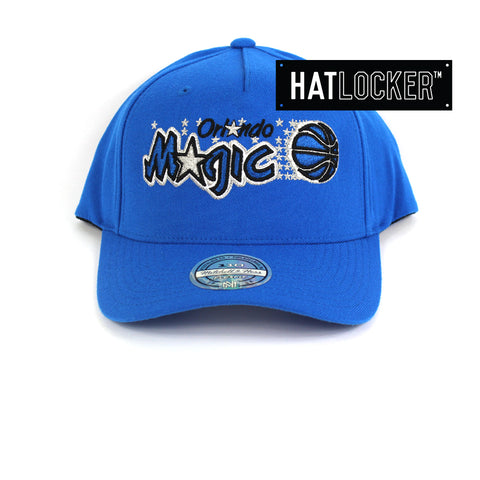 Mitchell & Ness Orlando Magic 110 Retro Team Curved Snapback Hat