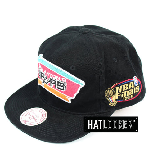 Mitchell and Ness San Antonio Spurs The Road Finals Snapback