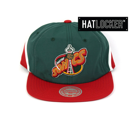 Mitchell & Ness Seattle SuperSonics Anorak Snapback Cap