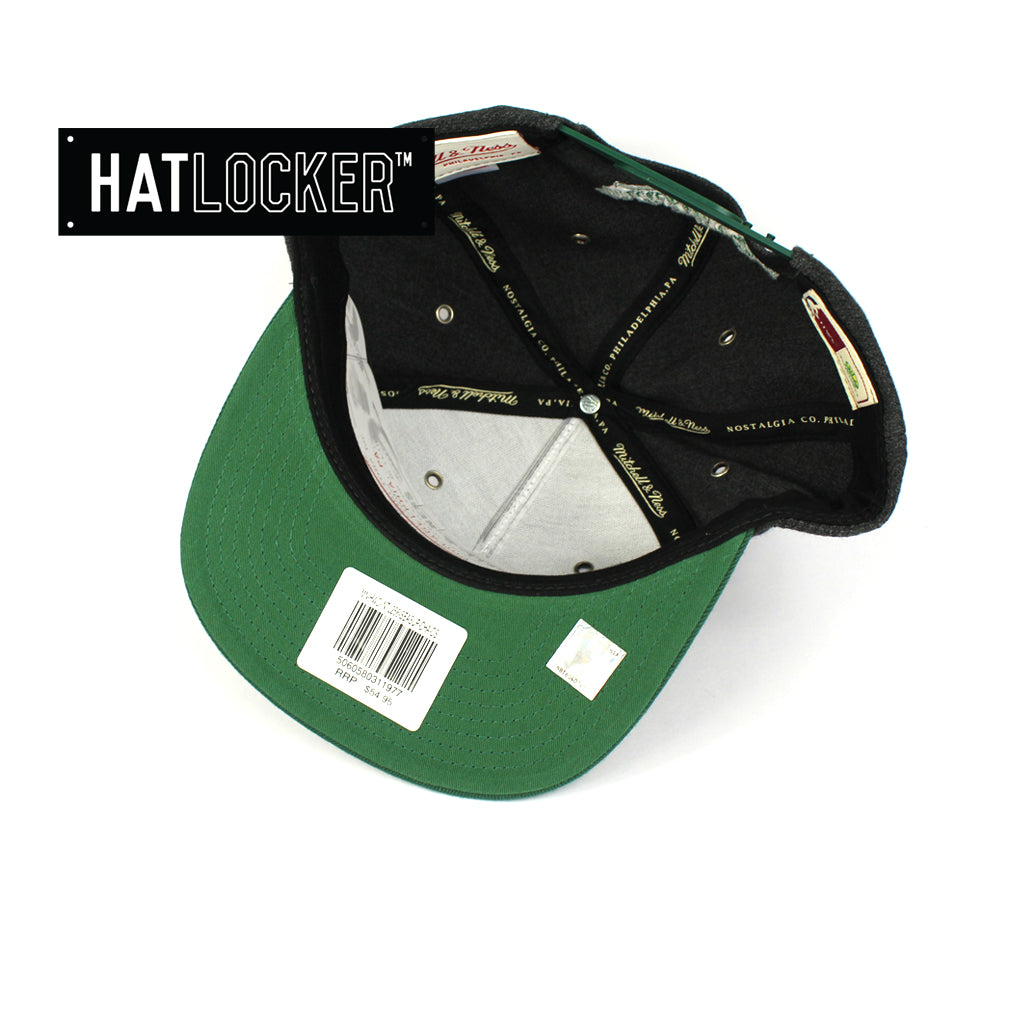 Mitchell & Ness Seattle Supersonics Woven Reflective Snapback Hat