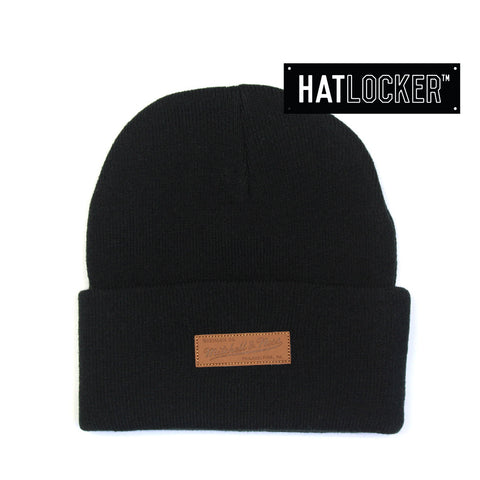 Mitchell & Ness - Token Black Beanie